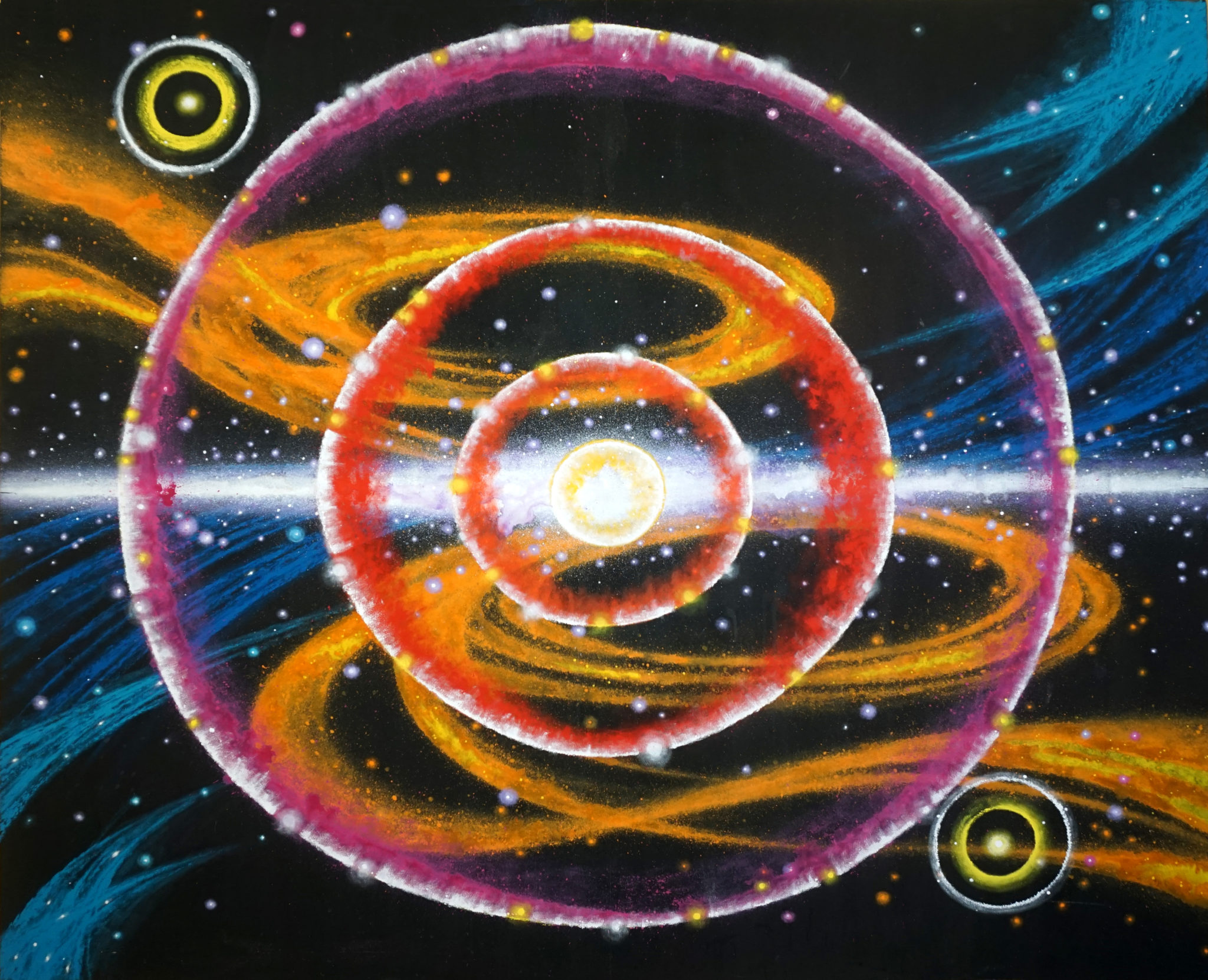 Heppich Galaxy 2 Painting