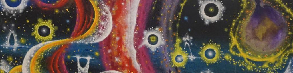 Eppich, Helmut. Galaxy 1 (Closeup). ©1994