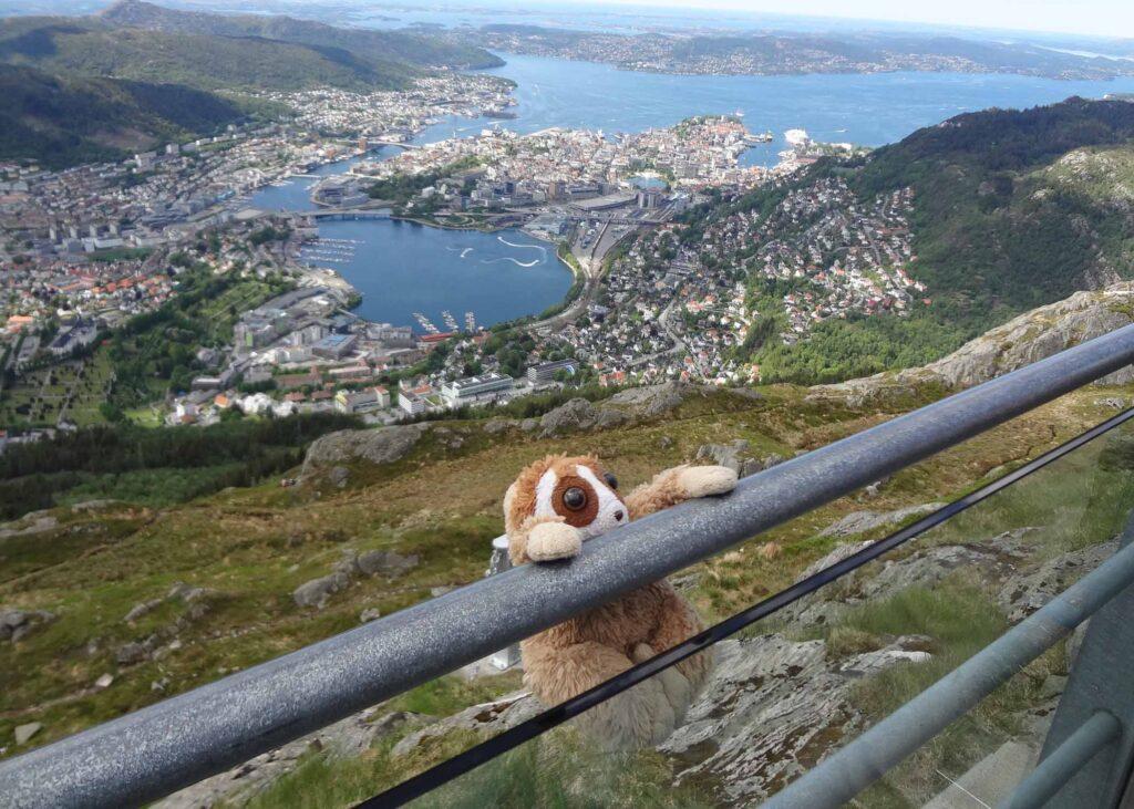 Cepat on Mt Floyd Bergen, Norway